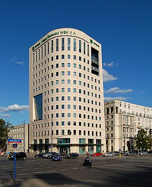 Bank Zachodni WBK - BZ WBK office in Warsaw
