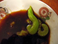Wasabi and soy sauce by williamnyk.jpg