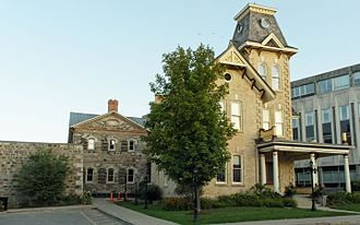 Kitchener, Ontario - Waterloo County Jail and Governor's House, Kitchener, built 1852