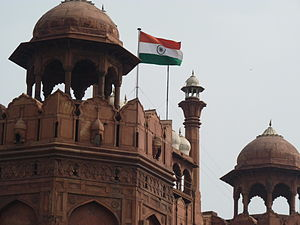 Flag code of India - Indian Flag At Red Fort