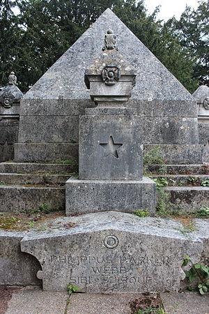 Philip Barker-Webb - Webb family Mausoleum in Milford, Surrey