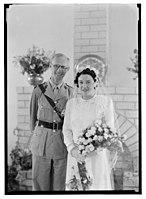 Wedding, Mr. Paton & Sister Sloan, June 23, '43 LOC matpc.14261.jpg