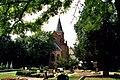 Wedlitz (Nienburg), Dorfkirche und Friedhof.jpg