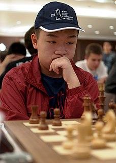 Wei Yi Chinese chess player
