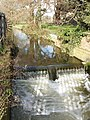 Weir on River Colne, Stanwell Moor - geograph.org.uk - 131648.jpg