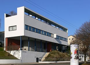 Corbusier Haus in Weissenhof Estate, Stuttgart, Germany (1927)