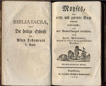 Bible translation from the jesuit and professo...