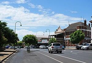 Wellington, New South Wales - Main street