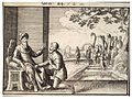 Wenceslas Hollar - Abraham's servant at the well of Nahor (State 1).jpg