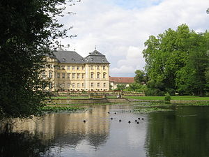 Werneck - Garden view of the palace