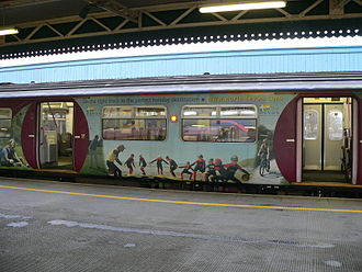 Tarka Line - Advertising on 150241 The Tarka Belle