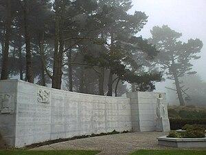 West Coast Memorial to the Missing of World War II - West Coast Memorial