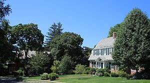 West Hartford, Connecticut - West Hill Historic District in West Hartford 2