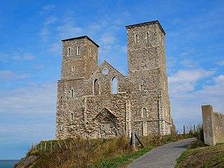 Reculver Human settlement in England