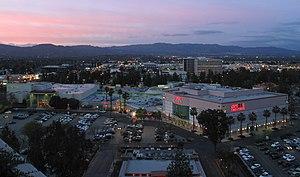 Westfield Promenade - Image: Westfield Promenade mall sunset