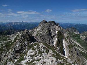 Hindelanger Klettersteig Wengenkopf : Westlicher wengenkopf u2013 wikipedia