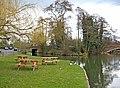 Wey Navigation and Stoke Bridge, Guildford - geograph.org.uk - 1753991.jpg