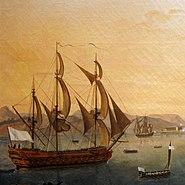 White ensign Battle martinique 1779 img 9388