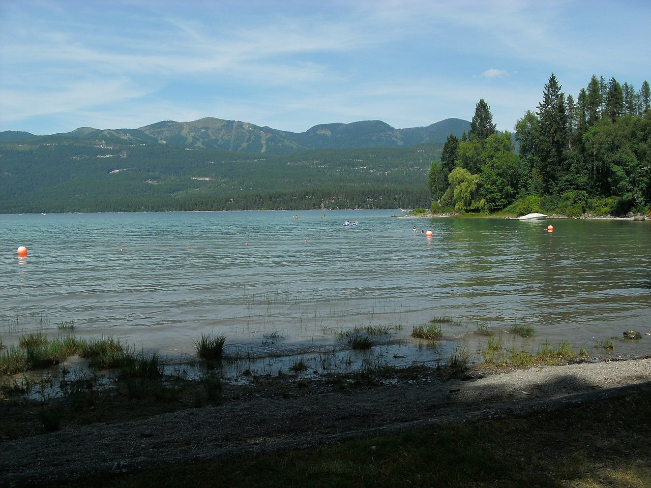 Whitefish Lake State Park; Places to visit in Montana