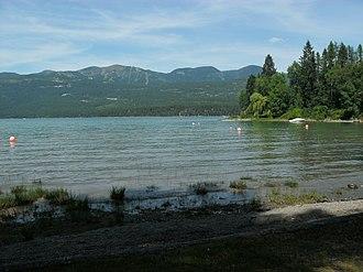Whitefish Lake State Park - Image: Whitefish Lake State Park Montana