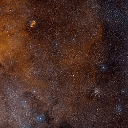 NGC 6134 at the lower right
