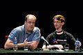 Wikimania 2009 - Jan-Bart de Vreede & Samuel Klein.jpg