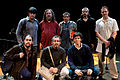 Wikimania 2009 - Richard Stallman en el teatro Alvear con asistentes (9).jpg