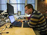 Wikimedia Multimedia Team - January 2014 - Photo 13.jpg