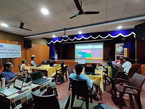 Wikisource and Wikidata training for Sanskrit Wikimedians- day 2.6.jpg