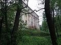 Wilkanów, pałac od strony parku.JPG