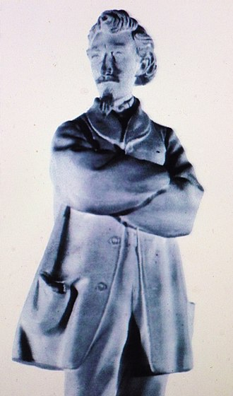 Photo sculpture - Photosculpture of François Willème from the 1860s