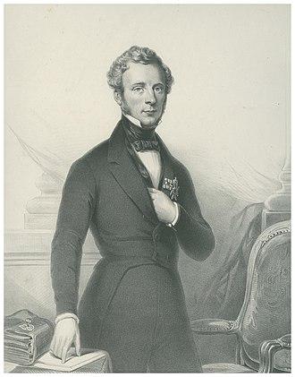Willem Anne Schimmelpenninck van der Oye - Schimmelpenninck in the early 1840s