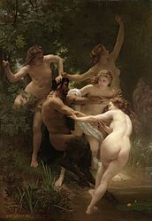 윌리암 아돌프 부그로: Nymphs and Satyr