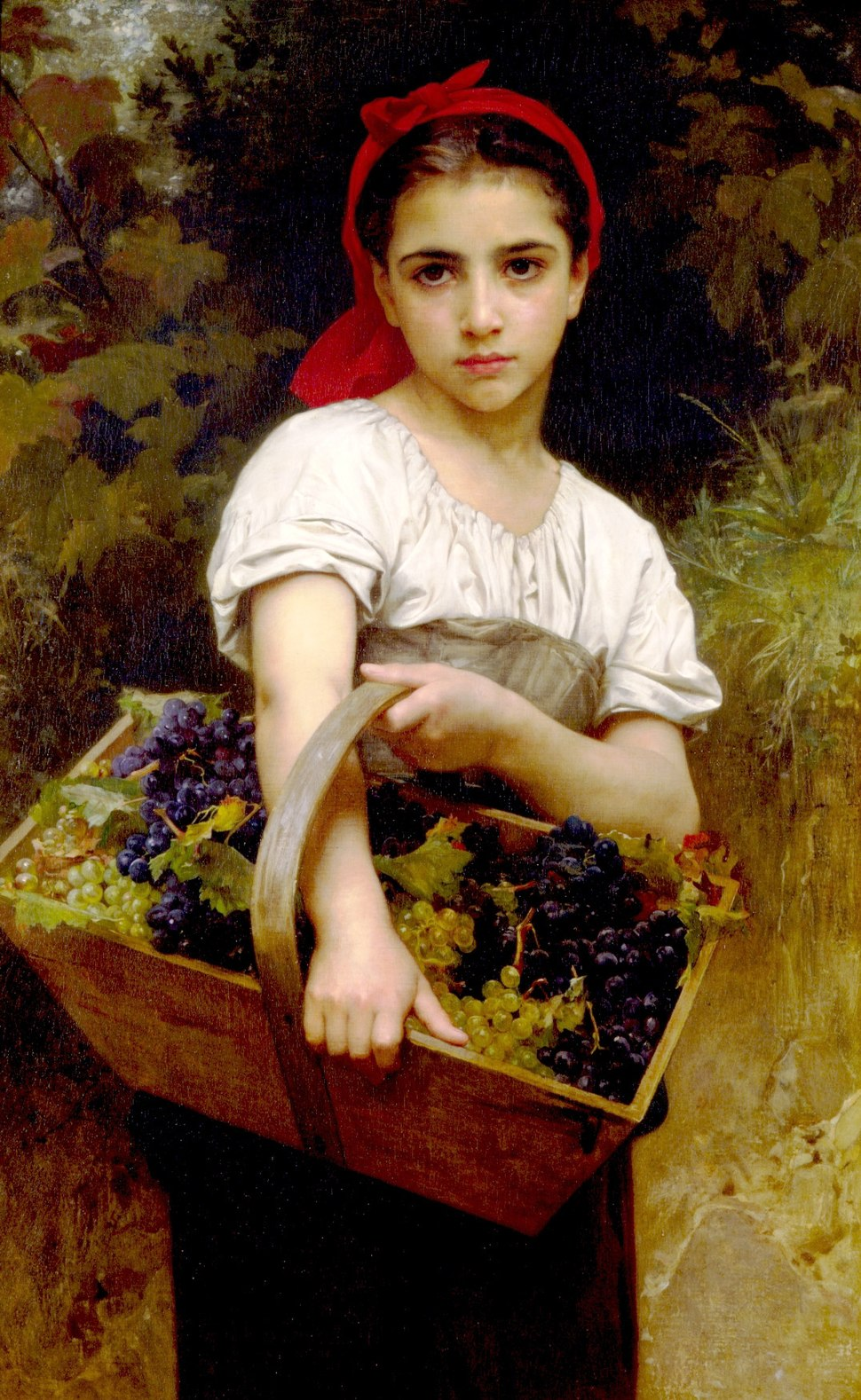 William-adolphe bouguereau the grape picker