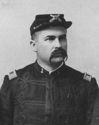 William Ansel Kinney, in the Hawaiian Military Commission of 1895