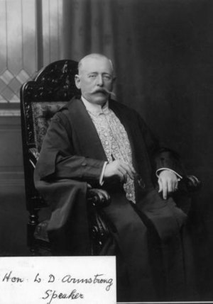 William Armstrong (Queensland politician) - Image: William Drayton Armstrong Queensland politician