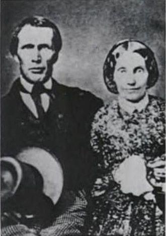 William Harrison Rice - William Harrison Rice and his wife, Mary Sophia Hyde Rice.
