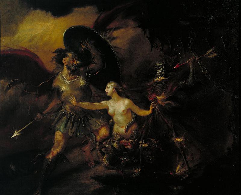 William Hogarth - Satan, Sin and Death (A Scene from Milton's `Paradise Lost') - Google Art Project.jpg