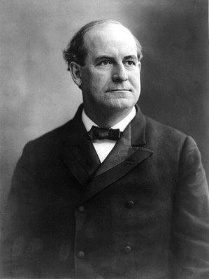 Social policy - U.S. Secretary of State William Jennings Bryan was the first major U.S. political figure to incorporate formal social policy into official government decisions, a champion of social justice.  Bryan is pictured in 1908.