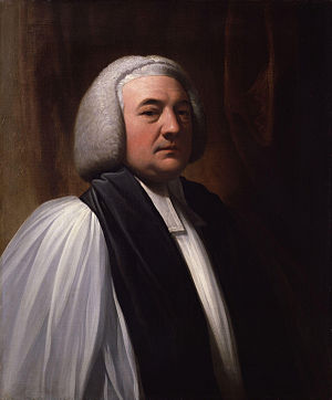 William Markham (bishop) - Contemporary portrait by Benjamin West.