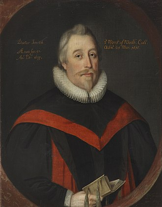Chancellor (education) - William Smyth, Vice-Chancellor of the University of Oxford; painting by Gilbert Jackson