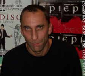 Will Self - Self at a 2002 book signing