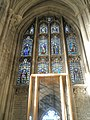 Window commissioned by the Earl of Ulster's Regiment on the south wall at Winchester Cathedral - geograph.org.uk - 1162387.jpg