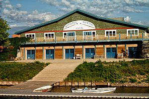 Winnipeg Rowing Club - Image: Winnipeg Rowing Club Boathouse
