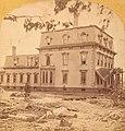 Wistariahurst after the flood (left), Skinnerville, Williamsburg, Massachusetts.jpg