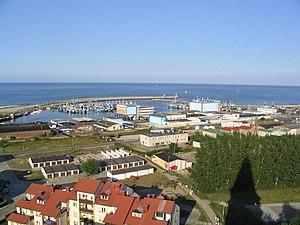 Władysławowo - Harbour on Baltic Sea