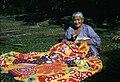 Woman sewing a tivaevae, Rarotonga.jpg