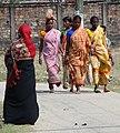 Women in Street - Srimangal - Sylhet Division - Bangladesh (12903194595).jpg