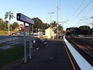 Woombye railway station