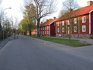 Motala Verkstad - Worker's housing at Motala Verkstad.